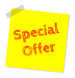 Special Offer Summer Sale 25 percent discount.